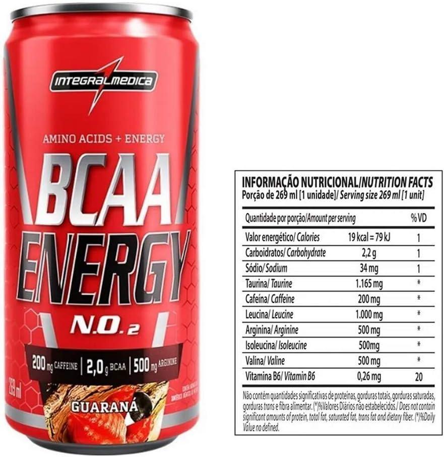 Bcaa Energy Drink (269Ml), Integralmédica por Integralmédica
