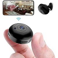 OUCAM Mini WiFi Spy Camera 1080P Audio and Video Recording Live Feed, Wireless Hidden Spy Cam Nanny Camera/Auto Night…