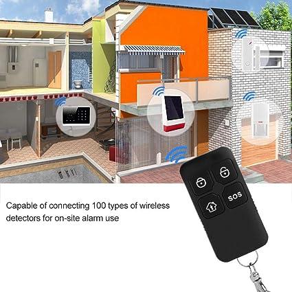 Sirena solar inalámbrica, Sistema de alarma antirrobos de ...