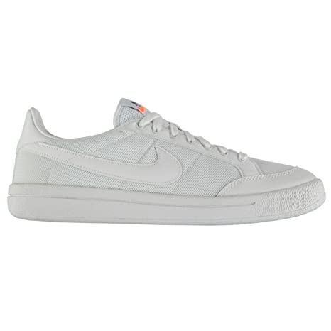 Nike Meadow 16 Textil Entrenadores Mens Blanco/Blanco Casual Zapatillas Zapatos Calzado, White/