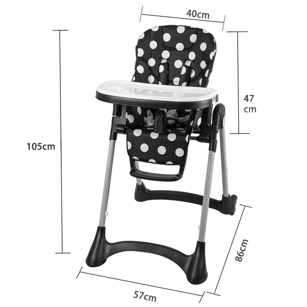 ZGL 子ども椅子 赤ちゃん食べる椅子の多機能の組み合わせ子どもの机の椅子子供のダイニングテーブルの椅子 ( 色 : ブラック )  ブラック B07CCHGFJ1