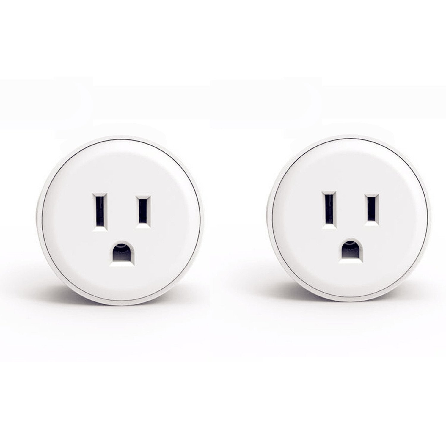 Cevitor Smart Home WIFI Power Socket Plug Outlet, Alexa and Smart Phone Wireless Controls, Not Hub Required (Mini 2-Pack)