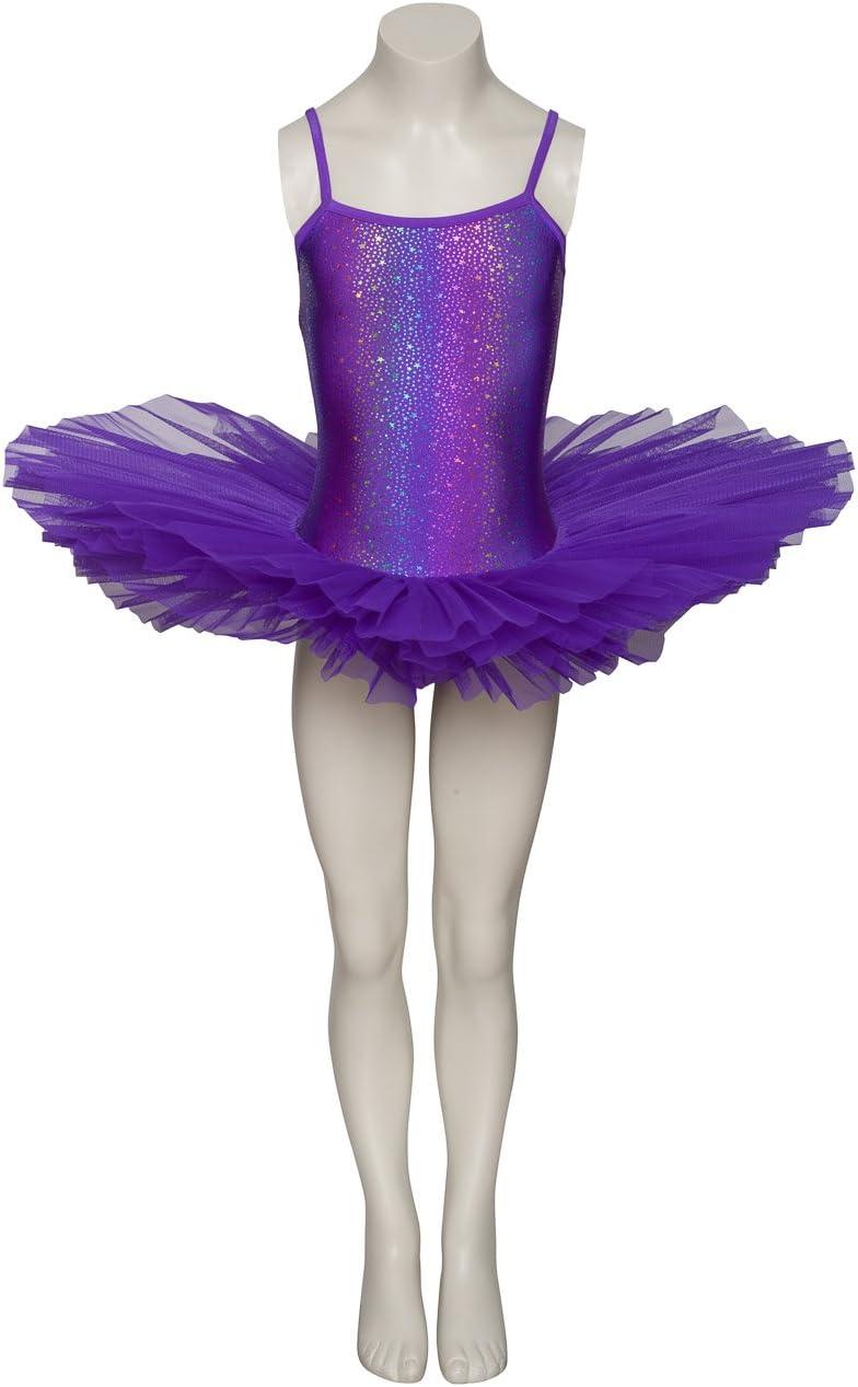 Purple Star Print Dance Ballet Leotard Tutu Childs Ladies Sizes By Katz Dancewear