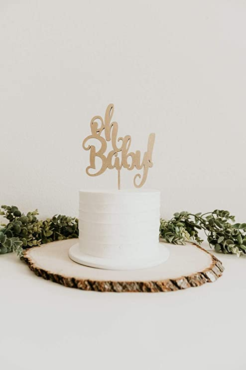 Wedding Decoration Cake Topper Gold Acrylic Decor Happy Birthday Party Supplies