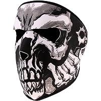 MagiDeal Skull Snowboard Ski Snow Neoprene Full Face Mask Motorcycle Bike Mask