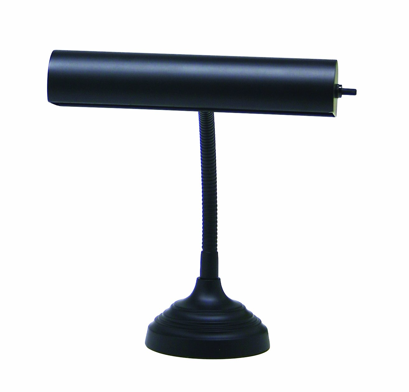 House Of Troy AP10-20-7 Advent Collection 11-1/2-Inch Gooseneck Portable Piano/Desk Lamp, Black by House of Troy