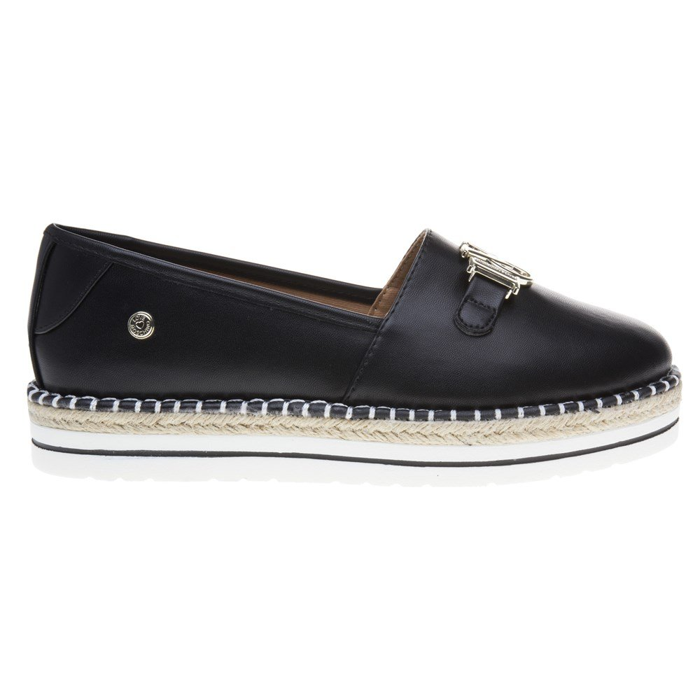 Love Moschino Espadrille Love Womens Shoes Black by Love Moschino (Image #2)