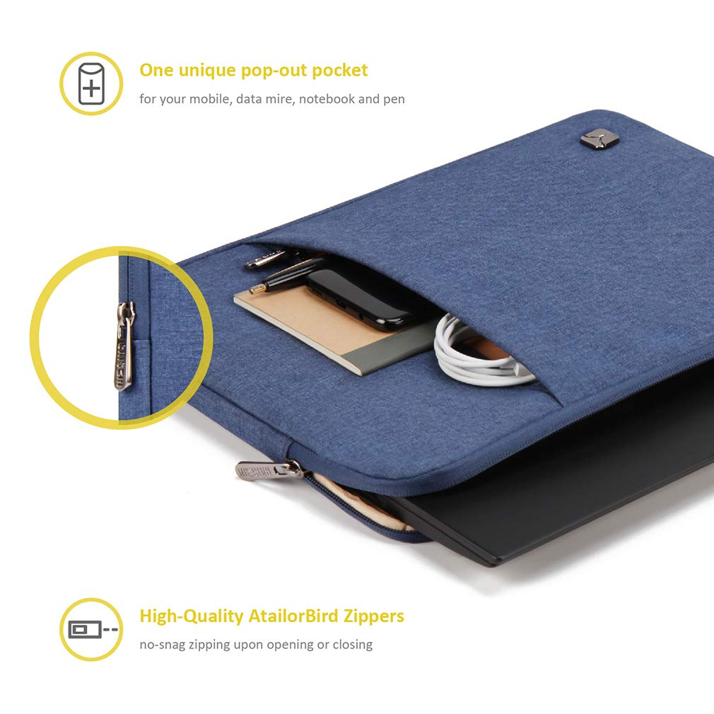 Lenovo ThinkPad T480 E480 E490s A485 L480 IdeaPad S130 120S// ACER 14 CB3-431 CAISON 14 inch Laptop Sleeve Case for HP 14 Chromebook Stream 14 Dell Vostro 14 Inspiron 14