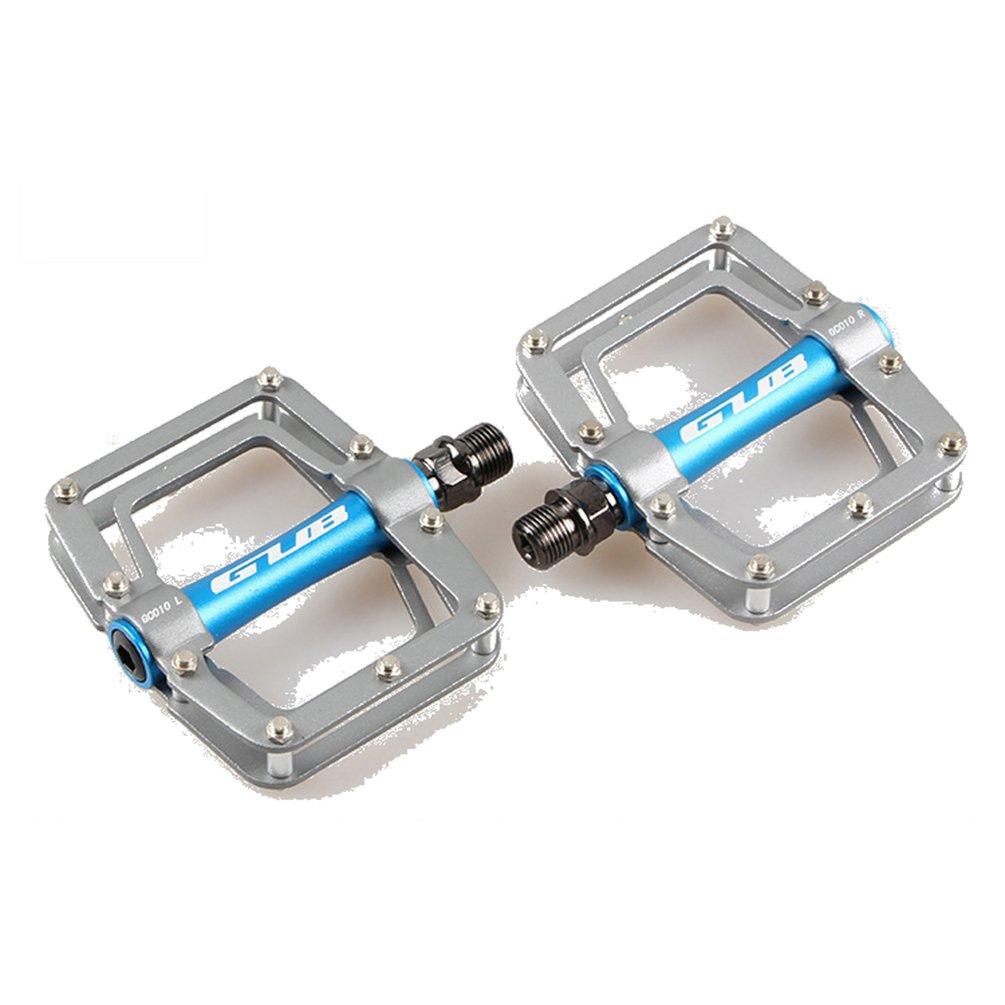 Anqeeso Aluminium Legierung Plattform Innenlager BIKE Pedale, BMX MTB Mountain Radfahren Pedale Fahrrad Pedale, 1 Paar Universal 9 40,6 cm