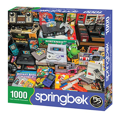 Springbok Gamer/'s Trove 1000 Piece Jigsaw Puzzle