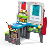 Amazon Com Step2 Flip And Doodle Easel Desk With Stool