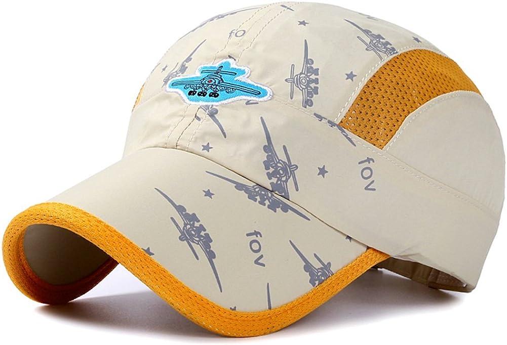 Home Prefer Kids Lightweight Quick Drying Sun Hat Toddler Baseball Cap UV Protection Caps