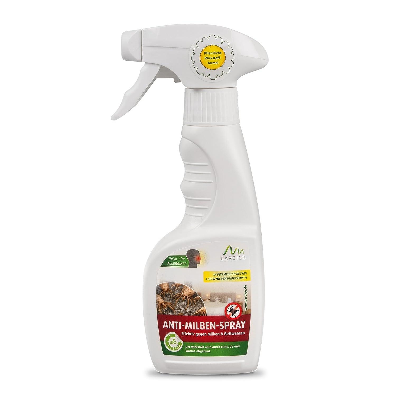 Gardigo Milbenmittel 250ml Anti-Milbenspray gewonnen aus dem Mutterkraut