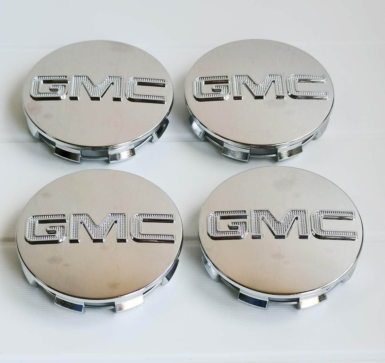 Black B 4Pieces Set,GMC Black B Wheel Center Hub Caps Emblem 83mm //3.25 GMC Rim Center Hubs Fit for GMC Denali Sierra Yukon 18 20 22Wheel 9595759
