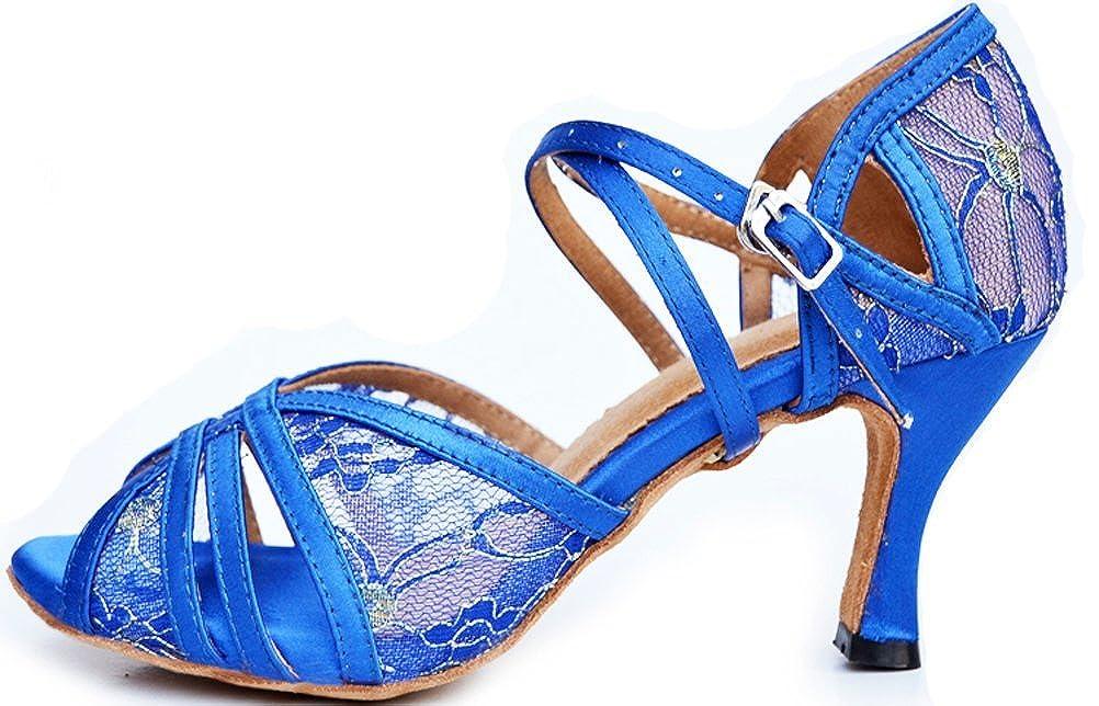 Womens Latin Ballroom Shoes Peep-Toe Body Strap Peep-Toe Shoes Professional Dance-Shoes 004 B07G2Z3RL7 Dance 80cd17