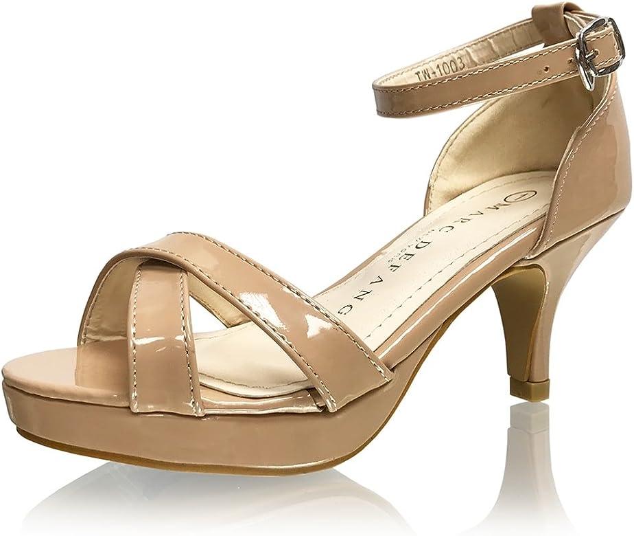 c0d07809be5 Girl's Tween Patent Leather Platform Sandal Pumps