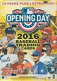 MLB 2016 Topps Opening Day Baseball Blaster Box Trading Cards, 11 packs