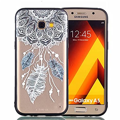 Amazon.com: Encontrar caja Galaxy A5 2017 Funda, 2 in1 ...