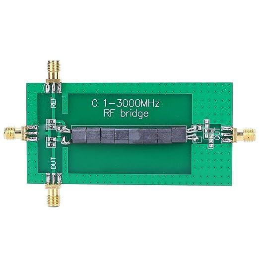SWR/Coeficiente de reflexión/Módulo analizador de pérdida de retorno, 0.1-3000 MHZ RF SWR Placa de antena de puente de reflexión, Reemplazo ...