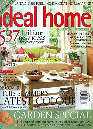 Ideal Home BIG 234 Page Issue BRITAIN'S BEST-SELLING DECORATING MAGAZINE EXTRA GARDEN SPECIAL (Style Garden French Furniture)