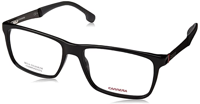Amazon.com: Carrera 8825/V Eyeglass Frames CA8825-0807-5517 - Black ...