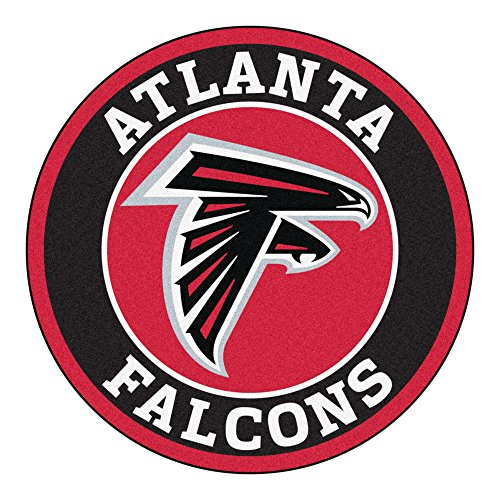 Atlanta Falcons Door Mat - FANMATS 17950 NFL Atlanta Falcons Roundel Mat