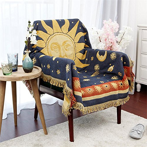 yellow throw quilt - 2