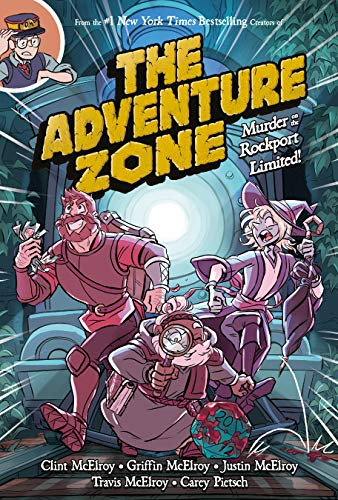 Pdf Comics The Adventure Zone: Murder on the Rockport Limited!