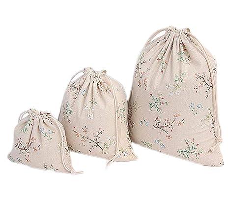 Ogquaton Bolsas de algodón con cordón Bolsas de Regalo ...