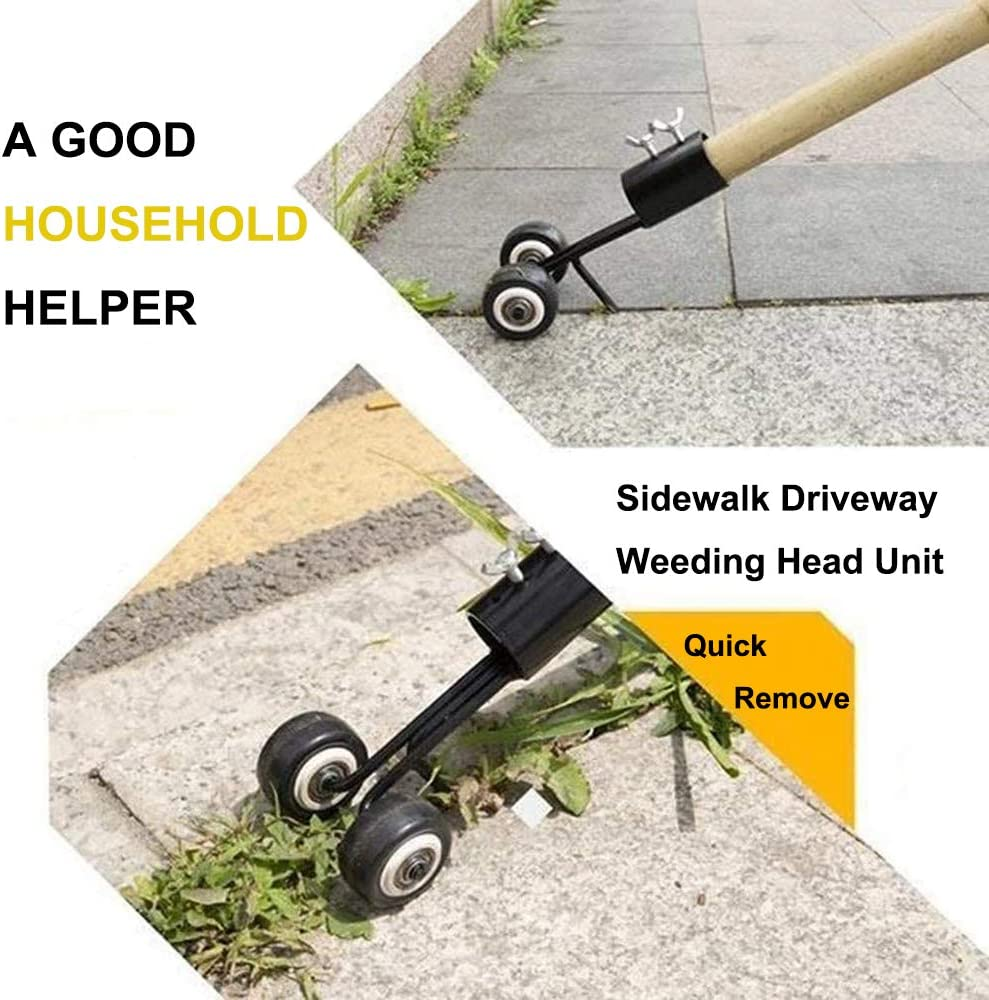 Curved Hook Weeds Snatcher Crack and Crevice Weeding Tool Manual ...