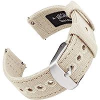 Archer Watch Straps - Vervangende Quick Release Horlogebanden van Canvas | Meerdere Kleuren, 18mm, 20mm, 22mm