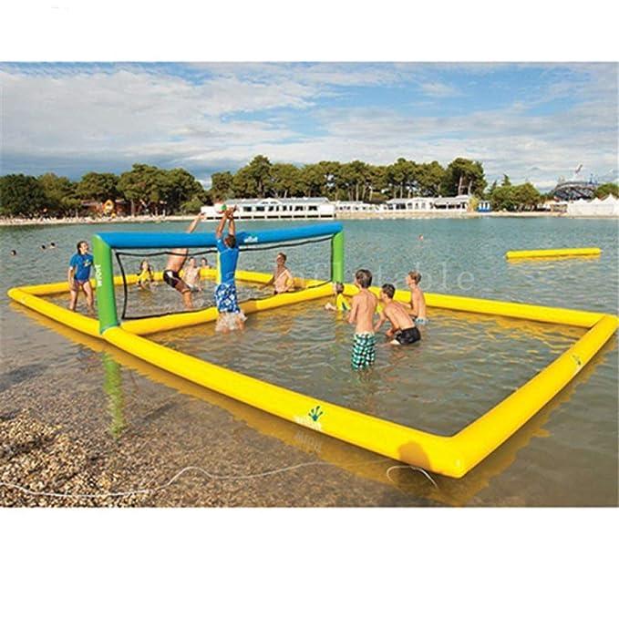 DMMDHR Equipo de Agua 10 * 5 * 1.2m cancha de Voleibol, Campo de ...