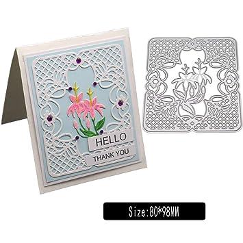 Flowers Metal Cutting Dies Stencil Scrapbooking DIY Paper Card Festival Decor