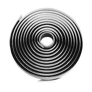 Yunpo Butyl Sealant Tape 4M/13Ft Waterproof Butyl Rubber Sealant for Car Headlamps Window Door Windshield Butyl Tape Black