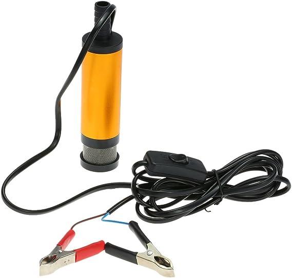 Kkmoon Diesel Kraftstoff Wasser Pumpe 12v Transfer Ölpumpe Für Auto Wohnwagen Marine Boot Auto