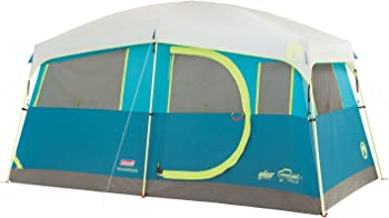 Coleman Tenaya Lake 6 Person Fast Pitch Tent with Cabinets