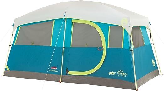 Coleman Tenaya Lake Lighted Cabin Tent (6/8 Person)
