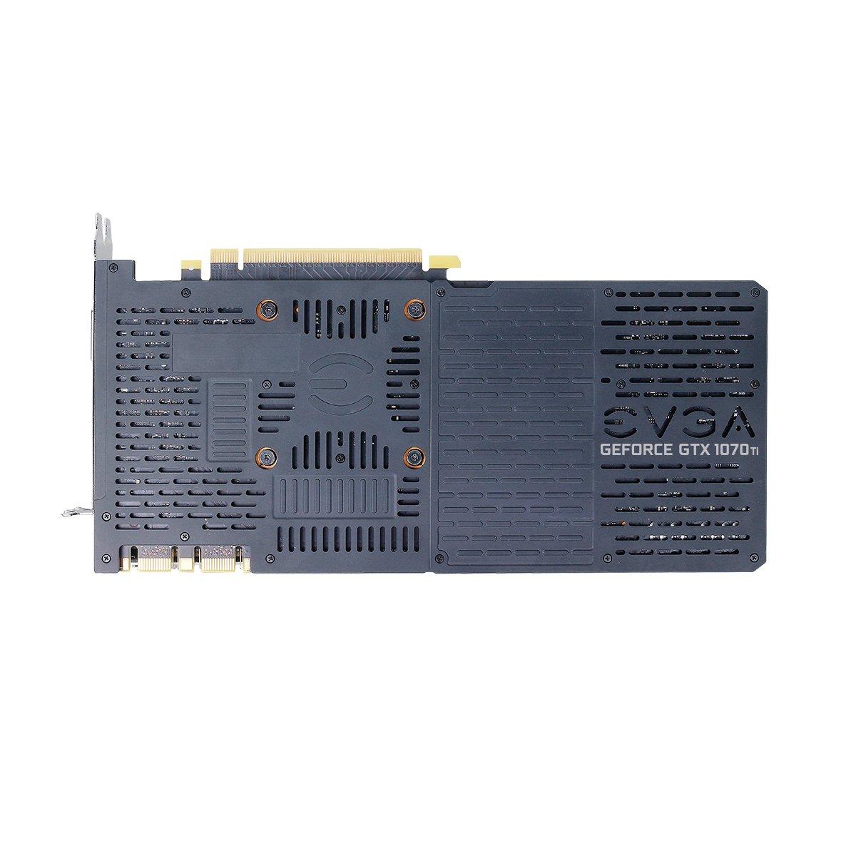EVGA GeForce GTX 1070 Ti FTW2 Juego, 8 GB GDDR5, tecnología iCX - 9 sensores térmicos y LED RGB G / P / M, Ventilador Asynch, optimizada para diseño ...
