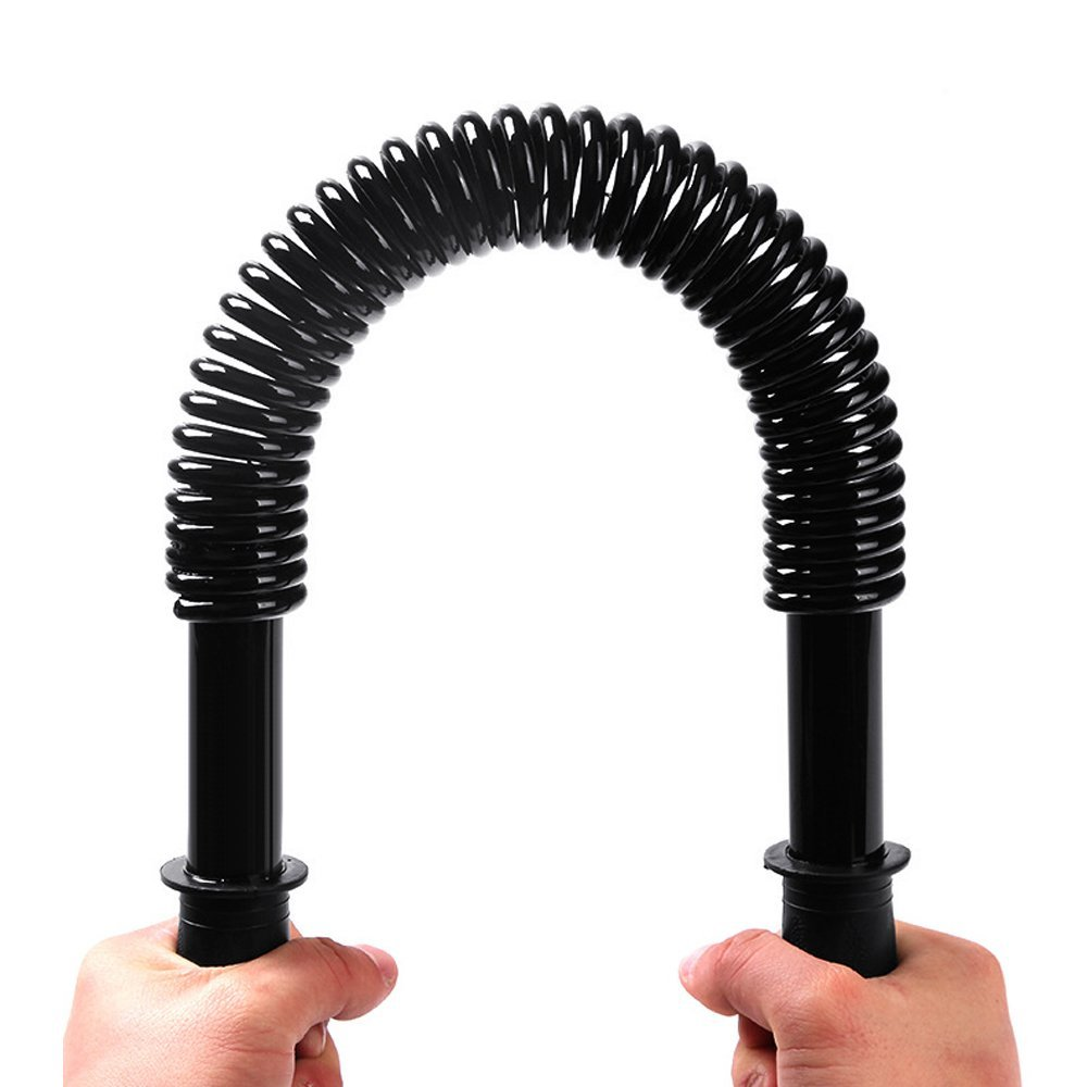 Boshen Power Twister Bar for Chest Arm Upper Body Strength Training Workout Heavy Duty Arm Chest Builder