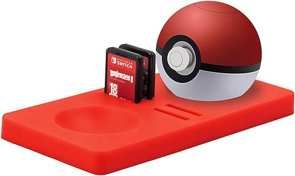 Almohadilla protectora para controlador Poke Ball Plus, accesorio para Pokémon Lets Go Pikachu Eevee Game para Nintendo Switch: Amazon.es: Electrónica