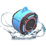 Worlds Best Waterproof Bluetooth Suction Speaker - IPX7 Portable Wireless Speaker with LED Display, FM Radio, Suction…