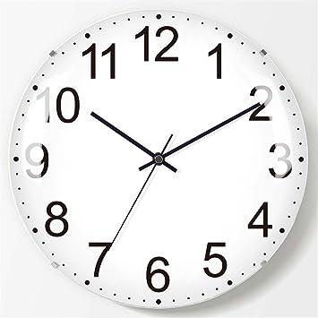 Wall clock WERLM La habitación de los niños creativos Dormitorio Estudio Minimalista Reloj de Pared Sala Ninguna Frontera Reloj de Pared Reloj de Pared ...