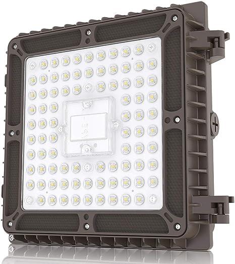 40Watt Round Led Canopy Light 130lm//W UL DLC Certified IP65 5000K