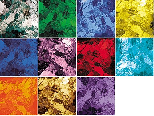 Variety Artique Spectrum Glass Pack – Stained Glass 8 Sheets