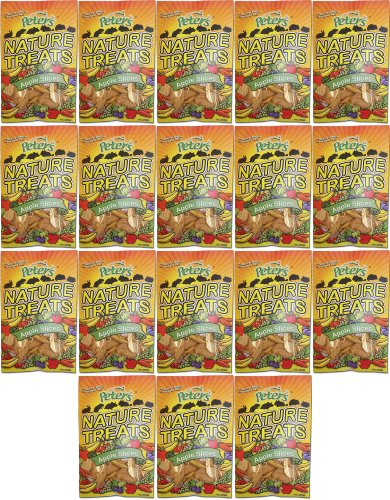 Marshall Peter's Nature Treats, Apple Slices 1.12Lb (18 x 1oz) by Marshall