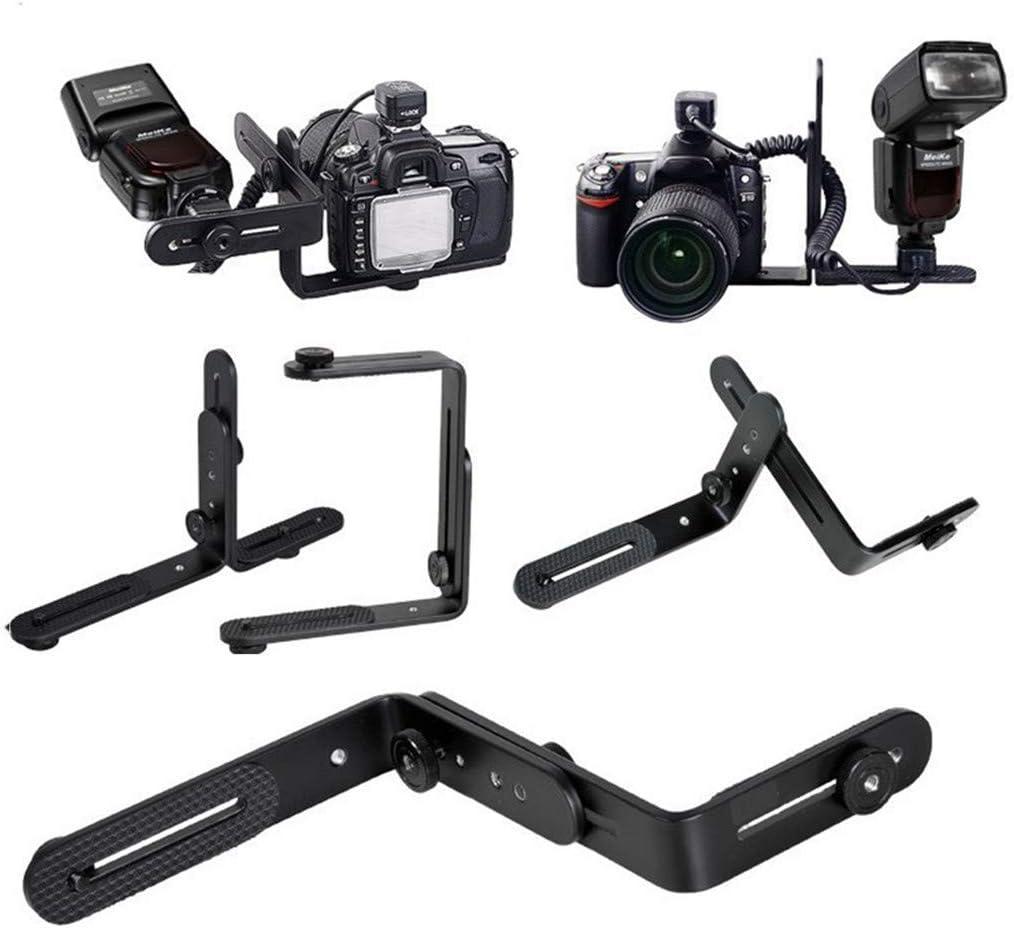 Spiegelreflexkamera NYAOLE Universal-Halterung f/ür Kamera Speedlite-Blitz