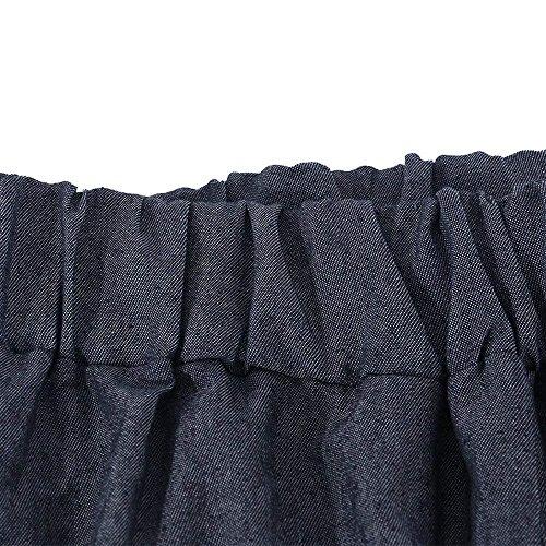Elastica Libero di Vita Trousers Pantalone Stoffa marca Elegante Donna Di Baggy Autunno Nero Purple Lunghe Mode Moda Palazzo Pantaloni Pantaloni Tempo nPZqIpZ1W