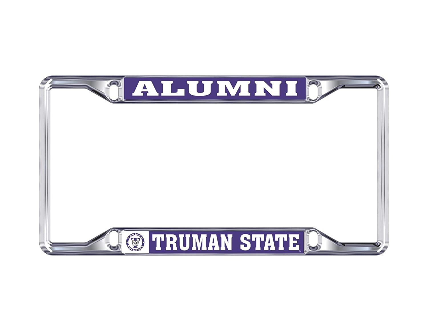 Desert Cactus Truman State University TSU Bulldogs NCAA Metal License Plate Frame for Front Back of Car Officially Licensed Alumni