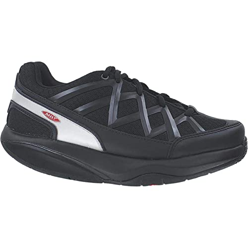 6fa87c065473 Image Unavailable. Image not available for. Color  MBT Men s Sport 3 Black  Leather Mesh ...