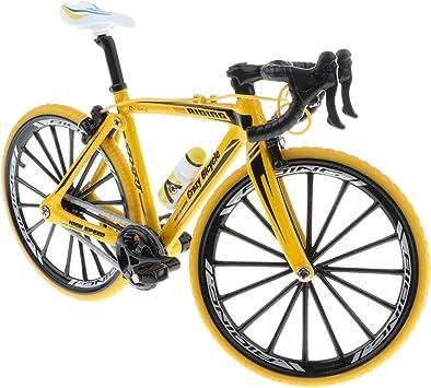FLAMEER 1:10 Juguete de Bicicleta de Simulación Aleación en ...